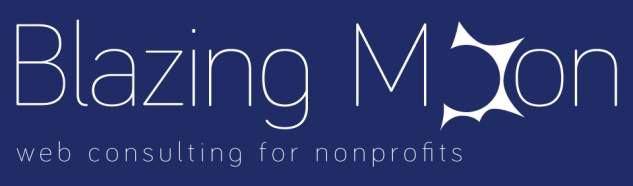 blazing moon - web consulting for nonprofits